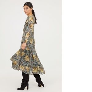 72d42d0c9fda H&M Dresses   William Morris Co X Hm Floral Maxi Dress Us 2   Poshmark